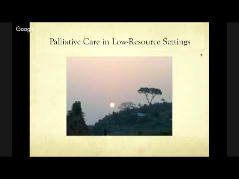 Palliative Care in Low Resource Countries: Samaritan's Purse International Health Forum