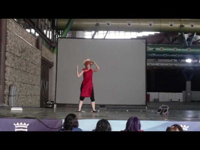 [K-N] [cosplay] AnimaComic 2013 - Kagura (Gintama) Videos De Viajes