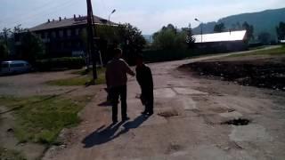 Ремонт дороги г.Закаменск