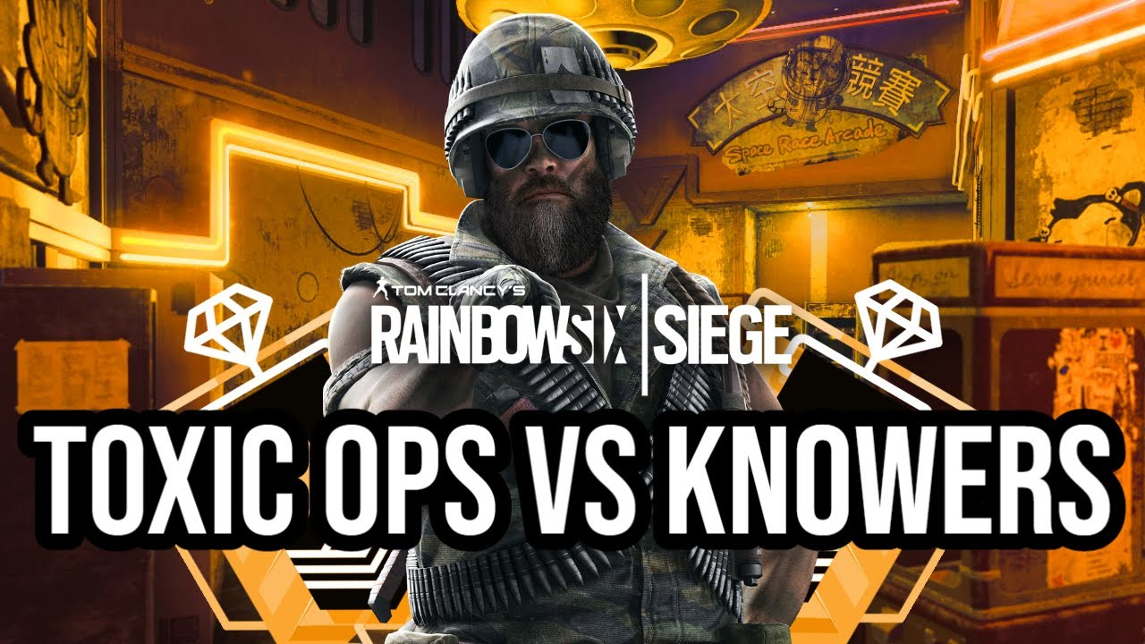 Toxic Ops vs Knowers | Theme Park Full Game