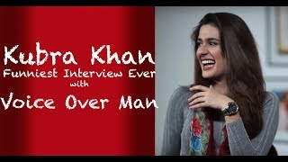 Kubra Khan Funny interview with Voice Over Man  - Episode 3
