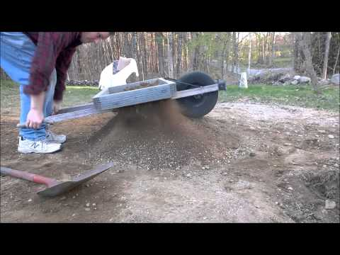 The rock-sifting wheelbarrow