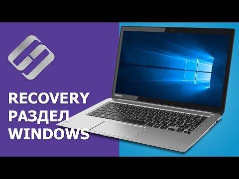 Как восстановить, создать раздел восстановления системы на ПК или ноутубуке с Windows 10, 8, 7 💻🛠️📀