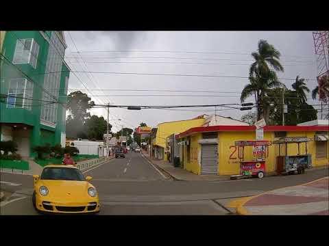 Driving Downtown - Moncion 2019 - Santiago Rodriguez - Dominican Republic