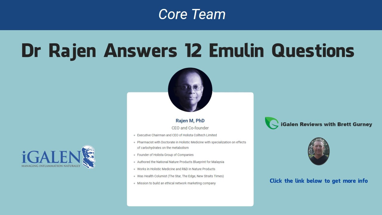 Emulin questions answered by igalen ceo dr rajen manecka brett emulin questions answered by igalen ceo dr rajen manecka brett gurney malvernweather Gallery