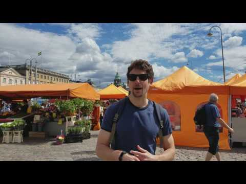 Foods from afar - Helsinki market part 1