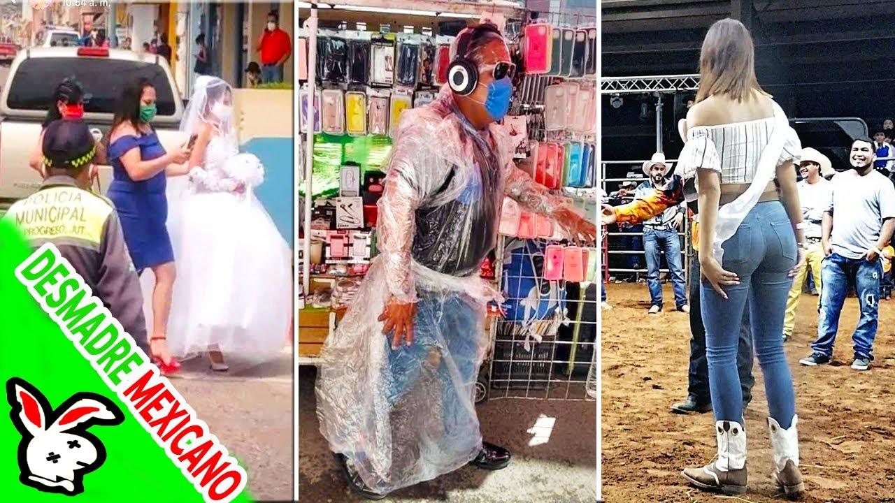 Los Mexicanos Somos Un Verdadero DESMADRE #4 !!!!! SI TE RÍES PIERDES