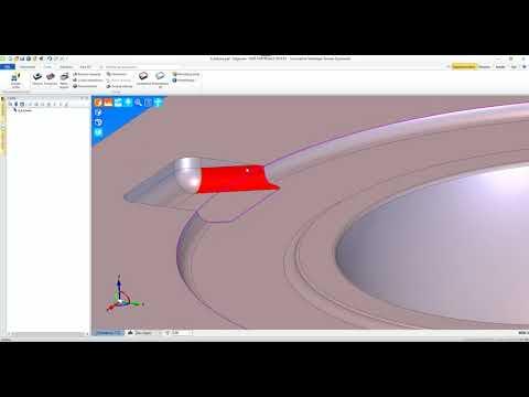 Edgecam | Tworzenie powierzchni zamkniętej