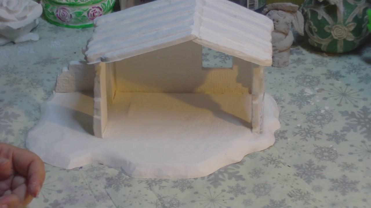 Gieß Dir Doch Mal Eine Weihnachtskrippe Aus Beton Keramik Oder Gips