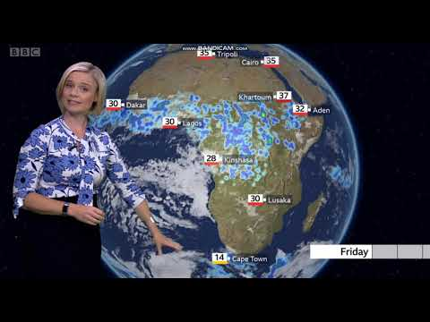 Sarah Keith-Lucas - BBC World weather - (27th August 2020) - HD [60 FPS]