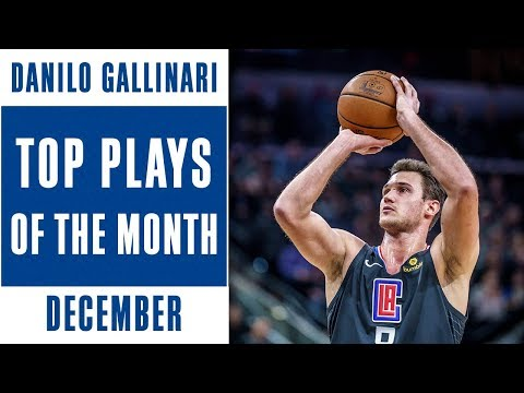 Danilo Gallinari Top Plays of the Month | December