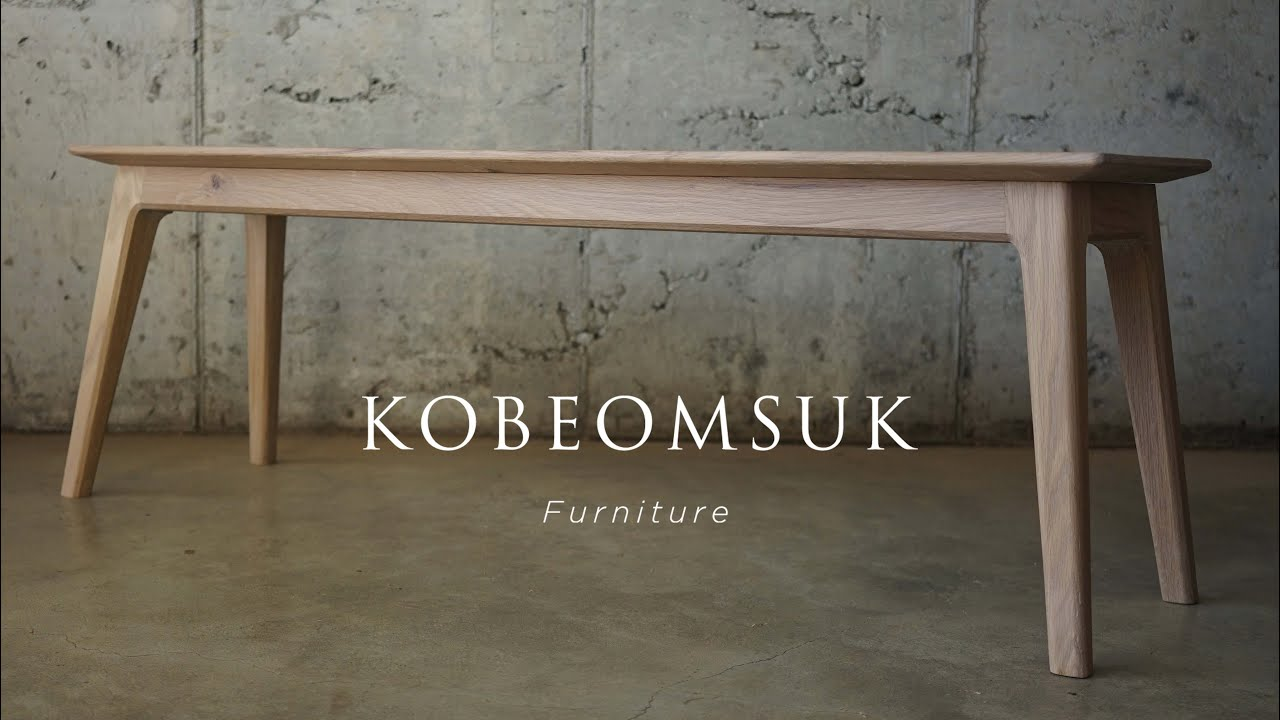 Kobeomsuk furniture - Rounded Bench