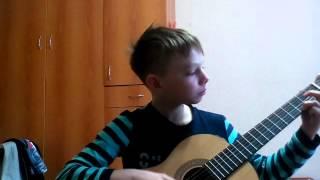 Я играю на гитаре хоть то видео и не набрало 100 лайков