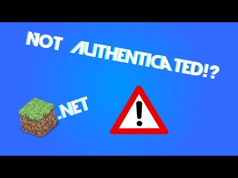 """""""Not Authenticated with Minecraft.net"""" Tutorial/Fix"""