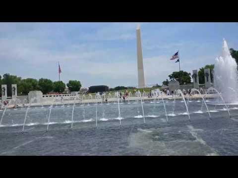360 degree view of  Washington monument and US CAPITOL at Washington DC.....