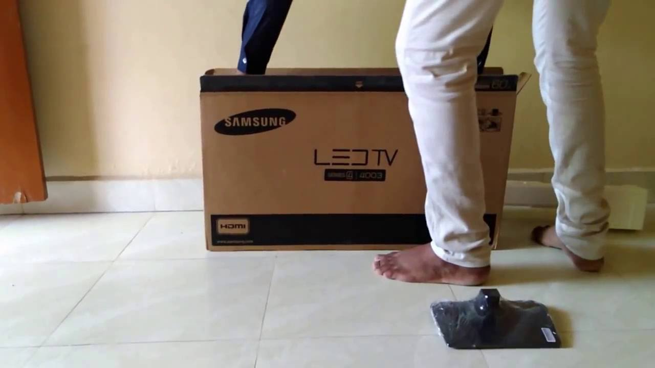 Samsung 24 Inch Led Tv Unboxing