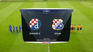 DINAMO II vs SOLIN 1:1 (21. kolo, Druga HNL 18/19)
