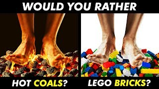 Most Impossible WOULD YOU RATHER Questions Ever!