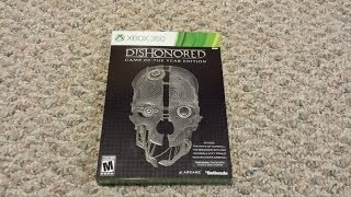 Dishonored: Game of The Year Edition Unboxing (Xbox 360)
