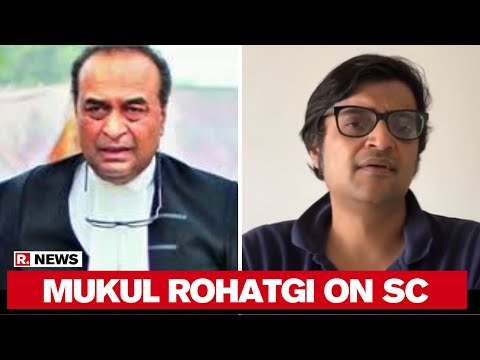 Republic's Lawyer In SC Mukul Rohatgi Speaks After Top Court Upholds Arnab Goswami's Right To Report