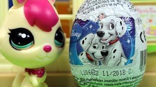 Niegrzeczne króliczki LPS - Disney Jajka Niespodzianki & Littlest Pet Shop - bajka po polsku