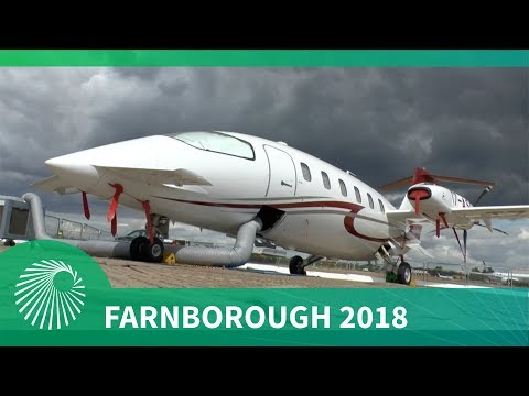 Farnborough 2018: Piaggio Aerospace P.180 Avanti EVO and P.1HH HammerHead