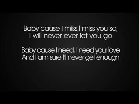 Sarah Engels Ft. Pietro Lombardi - I Miss You (Lyrics)