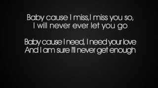 Sarah Engels Ft. Pietro Lombardi - I Miss You (Lyrics)
