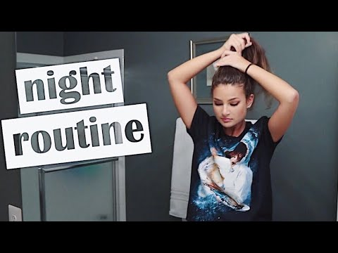 my real summer night routine - YouTube