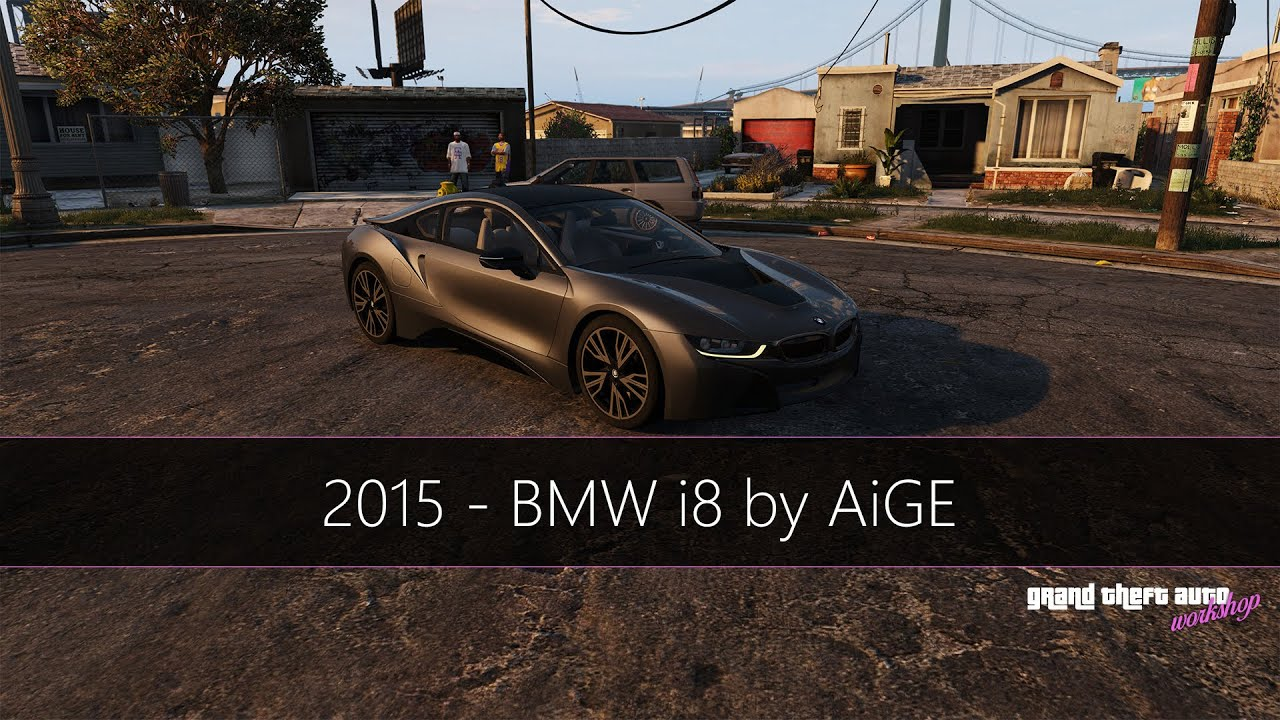 Gta 5 Bmw I8 2015 Real Car Mod Youtube