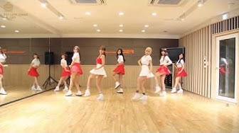 AOA Heart Attack Dance Practice Mirrored + Slowed