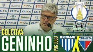 [Série B '18] Coletiva Geninho   Pós-jogo Avaí FC/SC 0 X 1 Fortaleza EC   TV ARTILHEIR⚽
