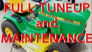 JOHN DEERE FULL TUNEUP and MAINTENANCE LAWNMOWER