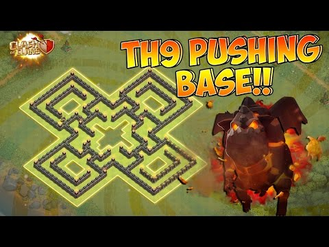 "Town Hall 9 | ""100% ANTI AIR ATTACK!!"" 
