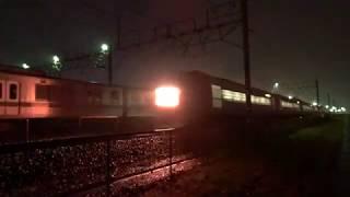〔4K UHD|cc〕JR貨物・高崎線:高崎操車場、EH200形+東京メトロ03系4B/北陸鉄道譲渡甲種・停車シーン。《9781レ》