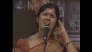 VATHAPI GANAPATHIM by  Anuradha Sreeram@Devasthanam Dakshinamurthi Sangeetholsavam