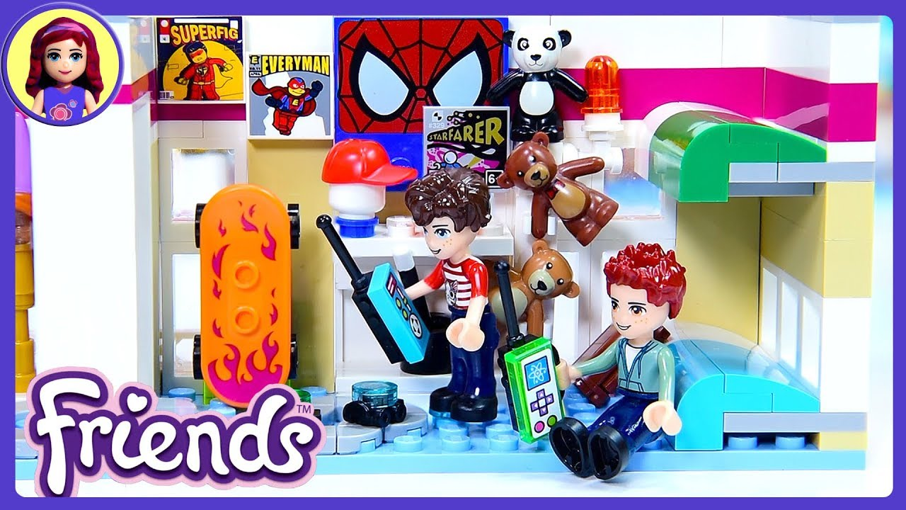 Lego Friends Custom Boys Room For Twins Triplets