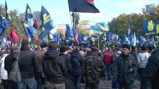 В Киеве прошёл Марш Нации