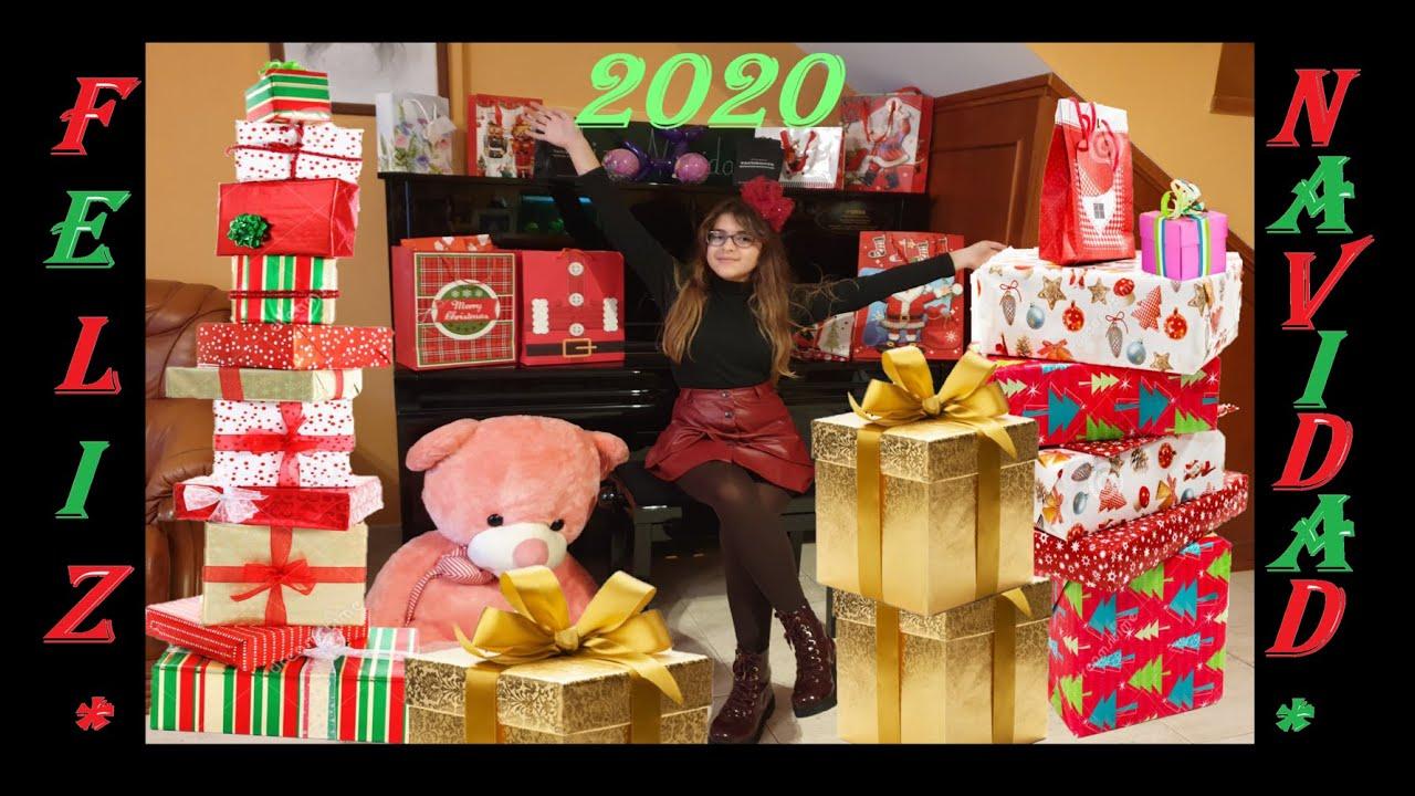 ¡¡ABRIENDO MIS REGALOS DE NAVIDAD 2020!! 🎅🎄 ¡¡ES INCREIBLE PAPA NOEL ME HA DEJADO MUCHOS REGALITOS!!