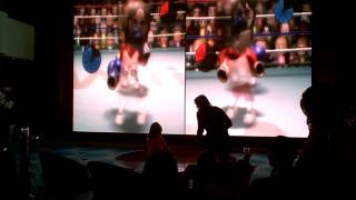 Cute Video of Little Girl & Mom Playing Wii Boxing on Cruise Ship