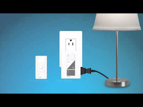 Caséta Wireless: Setting Up The Plug In Lamp Dimmer Kit
