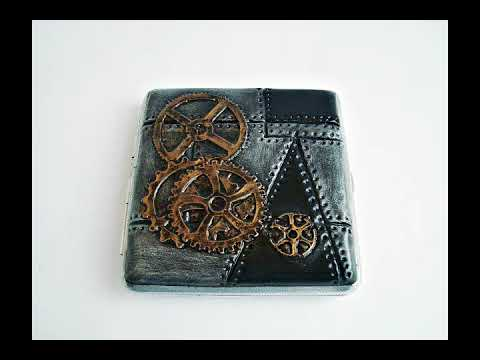 Products in my little shop in Etsy.  Handmade in Steampunk cigarette cases