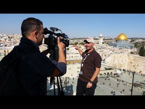 Reportage Jerusalem sous un autre angle. i24News  par David Mansour Guide Touristique.