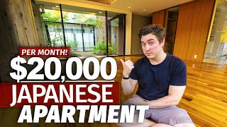 What a $20,000/Month Japanese Apartment is Like | Tokyo Home Tour