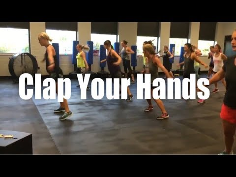 David Guetta & GLOWINTHEDARK - Clap Your Hands   Cardio Party Mashup Fitness Routine
