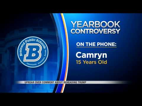 News   Teenager says private joke published in Brainerd High School Yearbook