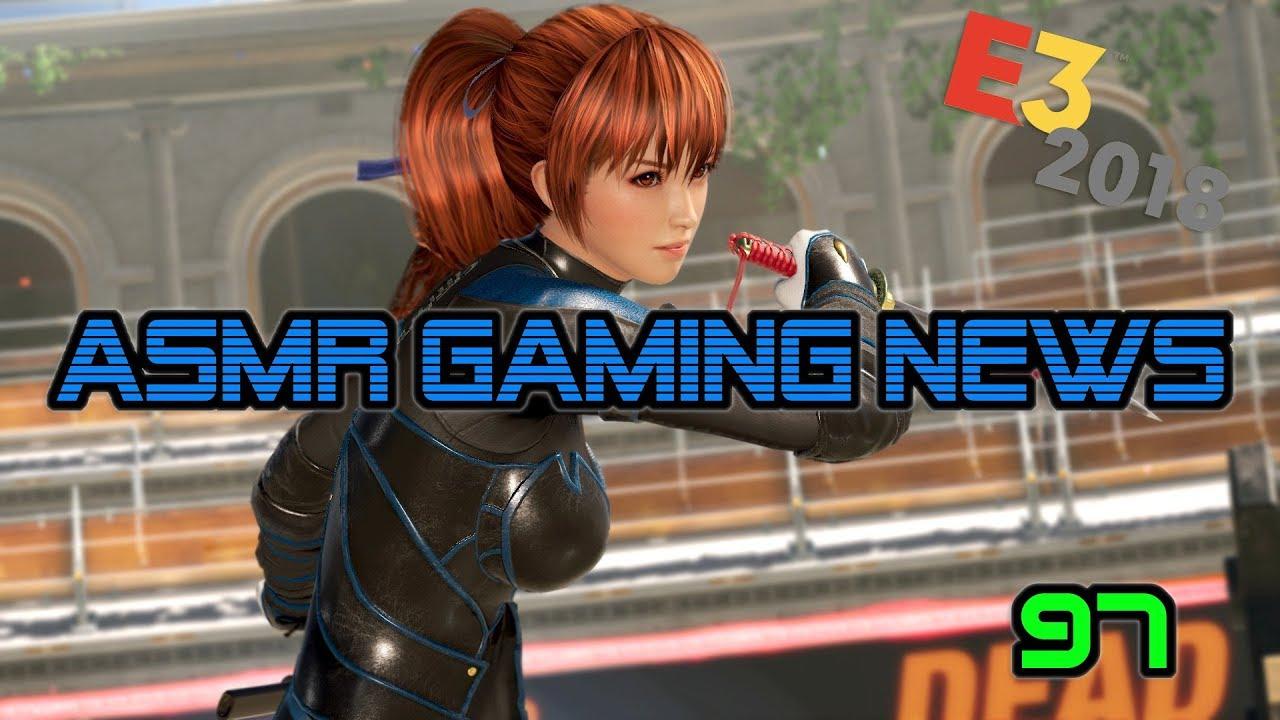 ASMR Gaming News (97) Dead or Alive 6, Fortnite Nintendo Switch, Battlefield V, Resident Evil 2 +
