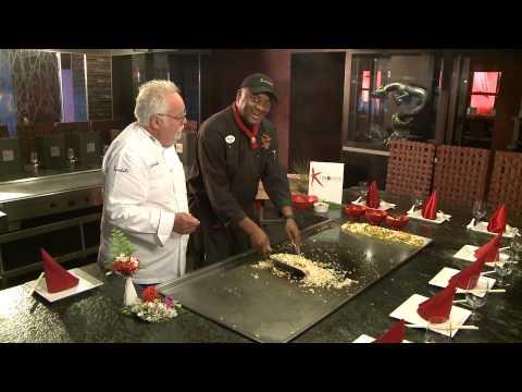 Kimonos, Sandals Resorts' Teppanyaki-Style Restaurant, Features Savory Food and Entertaining Chefs