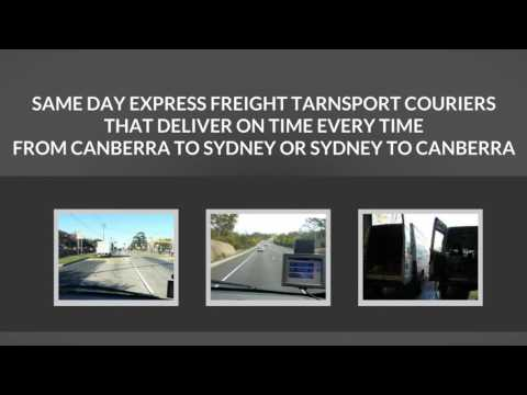 DRS Freight Services Sydney Canberra Interstate Overnight