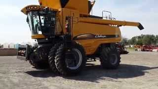 Big Iron Online Auction, 2012 Challenger AGCo 560 C Combine, Sells September 30, 2015